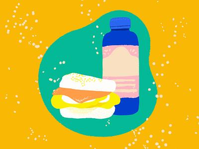 Breakfast Sanhwich kombucha sandwhich breakfast