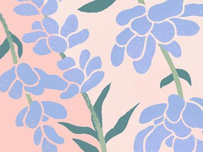 Summertime summertime summer pattern flower purple lavender