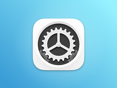 White settings icon sketch app apple ipad iphone settings white icon