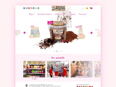 Homepage for Michel & Augustin food news slider homepage cook michel et augustin