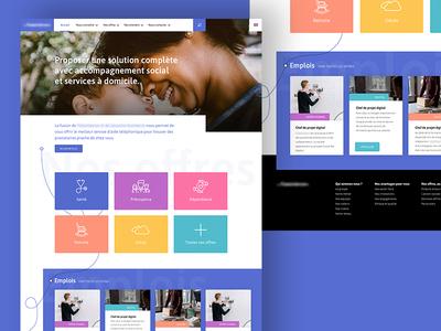 Insurance Homepage pictograms jobboard solid homepage insurance