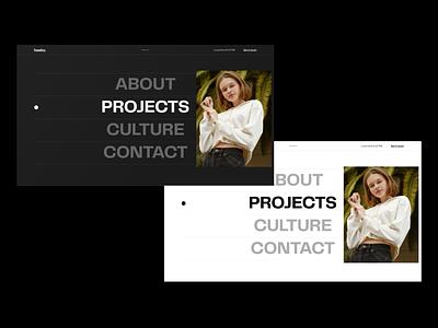Menu explorations logo minimal flat ux menu webdesign website geometric typography abstract branding illustration ui