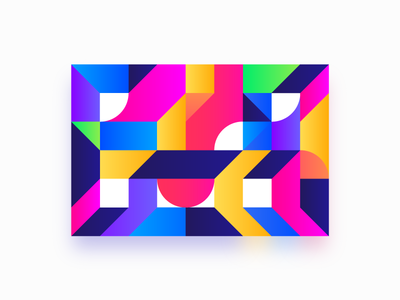 Chaos Series - Pattern #3 creative shape pattern illustration geometric box art abstract