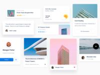 UI cards - Atomize 3.0