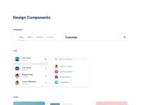 Pre designed ui components