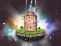 Thesaloniki White Tower poster