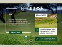 Crete golf club homepage: The course