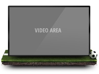 Football Video Player Area