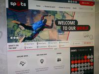 xtremespots.com homepage