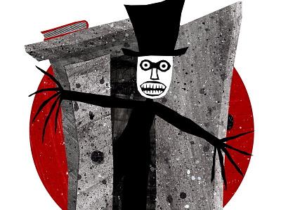 Babadook spooky australian babadook character monster film horror illustration