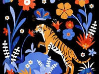 The Tiger and the Flower