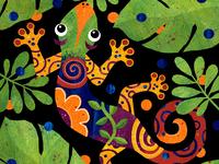 Indigo Gecko