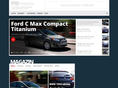 Video News videoplayer blog news newssite video car