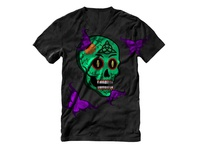 Day Of The Dead Skull Tshirt