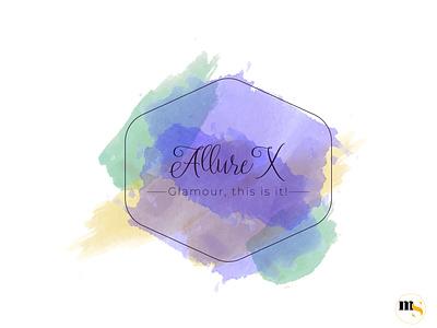Allure X édition femmes watercolor design by @mkrmStudio illustration design logo graphic design