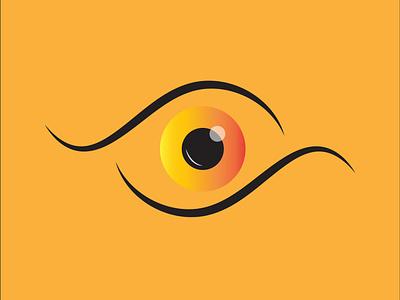 eye 👁 illustration by @mkrmstudio iris eyeball eye vector illustration design graphic design