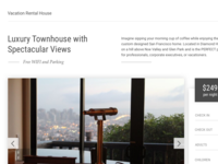 Vacation House Website