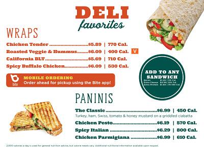 Menu Board 2020 food print layout menu board branding students university college dining room menu