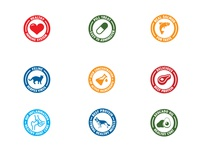 Global Pet Nutrition Icons