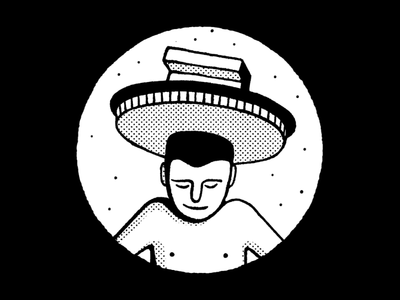 Bratislava slovakia bratislava wacom pattern editorial icon blackandwhite simple maldonaut maldo minimal illustration