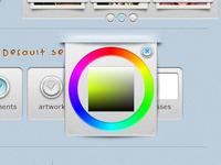Color Wheel 'pop-up' (using Farbtastic.js)