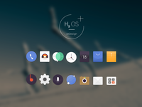 Icon Pack Redesign theme design android launcher launcher android app theme icon icon app
