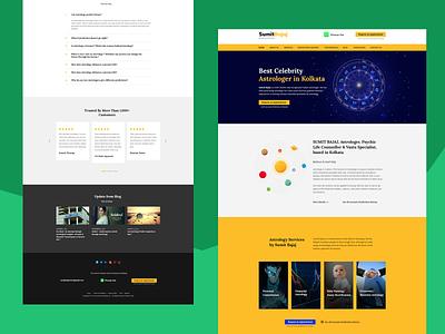 Website Design and Development for Astrologer astrolgy website design website responsive wordpress ui webdesign
