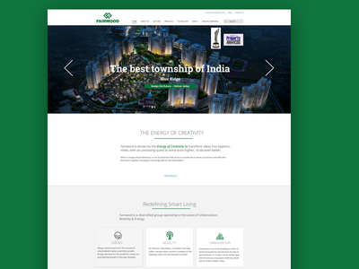 Web Design and Development for Architecture Company ux ui responsive webdesign wordpress website