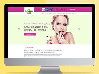 Web Design and Development for Beauty website ux ui responsive webdesign wordpress website