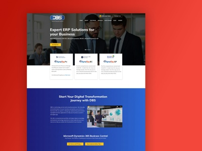 Web Design for IT Company UAE website responsive ui wordpress webdesign