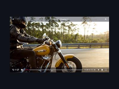 Video Player #dailyui #057 ui dailyui