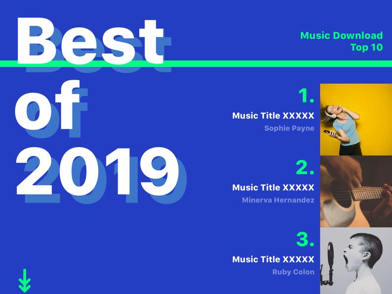Best of 2019 #dailyui #063 ui dailyui