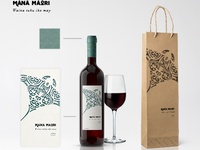 Mana Maori - Wine Bottle
