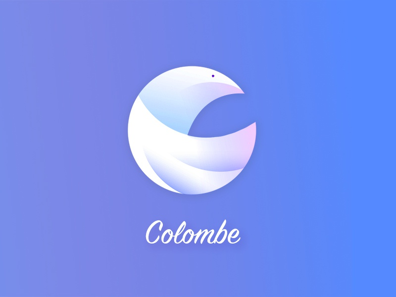 Colombe dove colombe bird logo