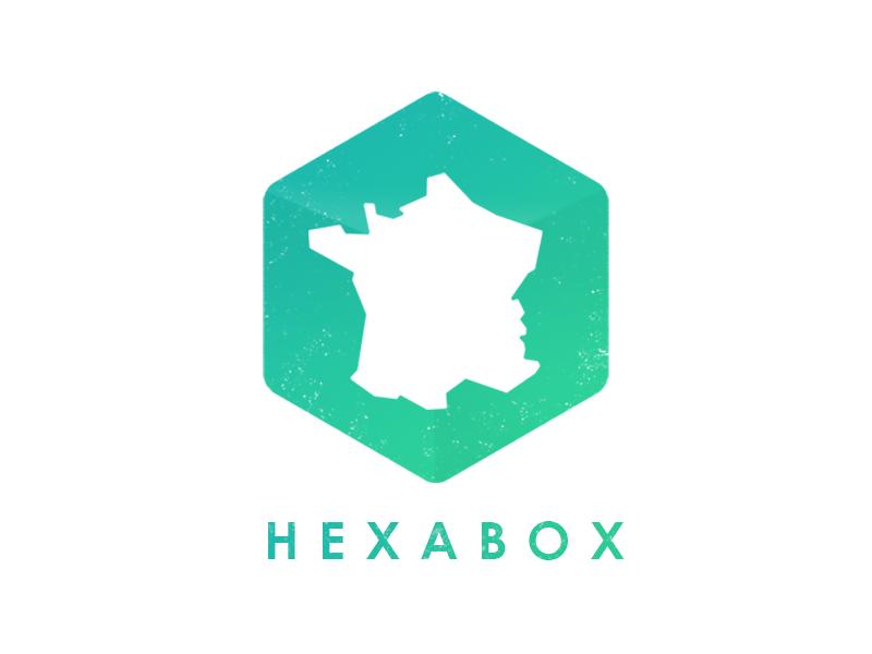 Hexabox hexabox hexagon france logo