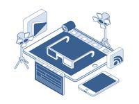 Video Production Illustration