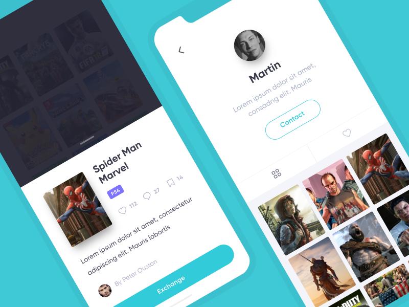 App Swap by Martin Berbesson on Dribbble