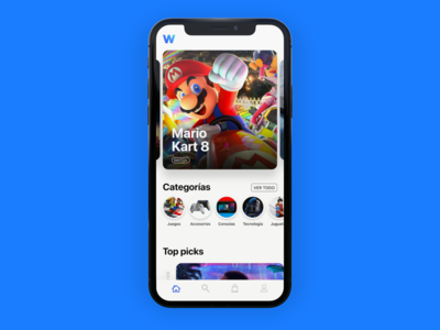 Videogame ecommerce app