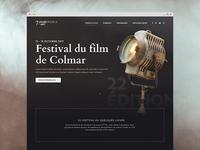 Film festival website