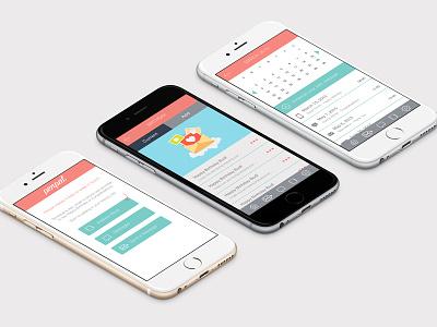 Penpal App ios ui design ui ux iphone