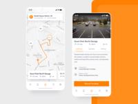 Parking App Ui Exploration