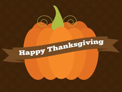 Happy Thanksgiving! thanksgiving