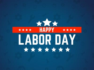 Labor Day Graphic work holidays
