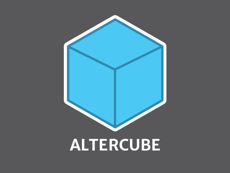 Final sticker altercube