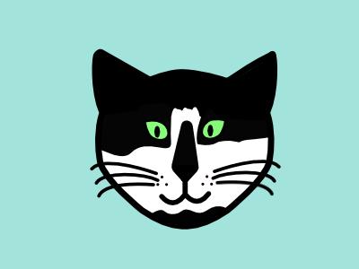 Oreo Kitty portrait design cats