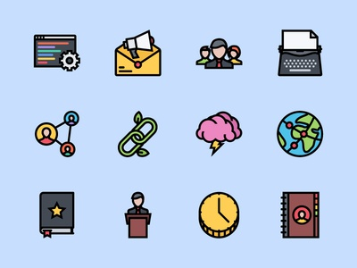 The Business & Seo Icons 100