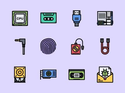 The Computer   Data Icons 100