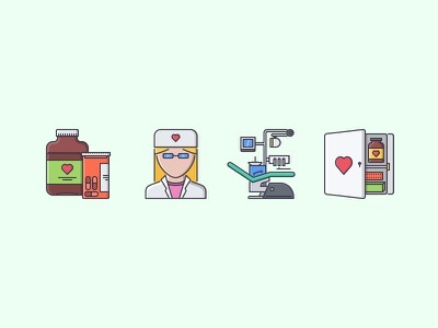 The Medicine Filled Outline Icons 25 medicine doctor first aid kit syrup pill chair dental filled outline iconfinder outline set icons