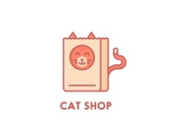 Cat Shop Logo - Day 7