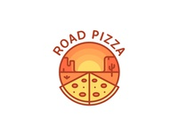 Road Pizza Logo - Day 9